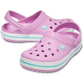 Crocs Crocband Clogs violet/white